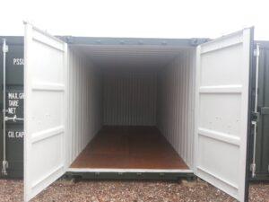 New 20 foot storage unit